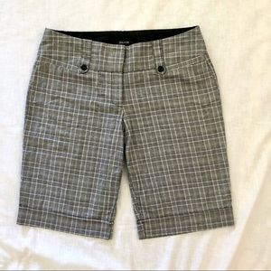 Maurices Plaid Bermuda Shorts, NWOT, sz 12